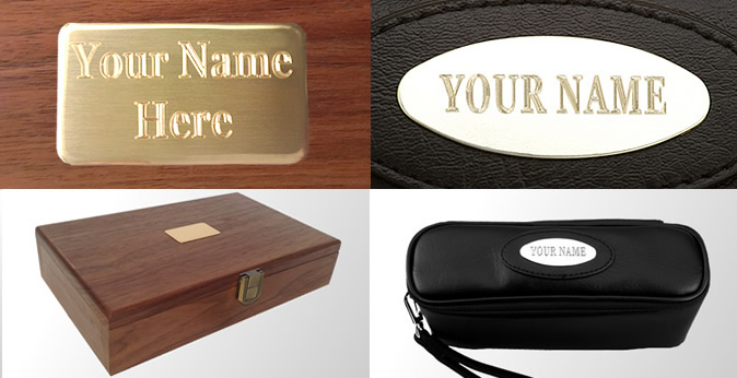 Engraved  domino sets